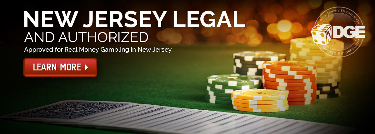 New Jersey Legal and Authorized for Real Money Gambling