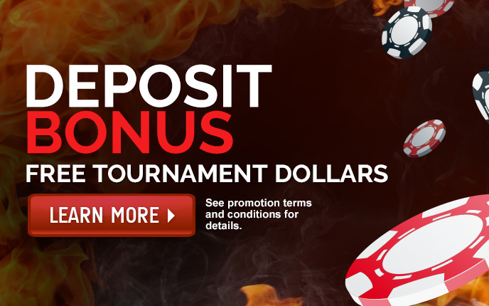 Deposit Bonus Tournament Dollars